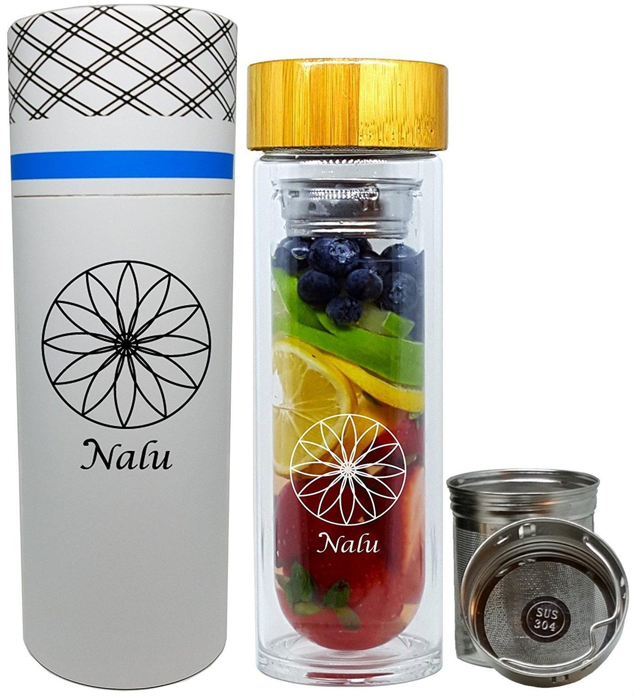 Nalu Infusion Glass Bottle