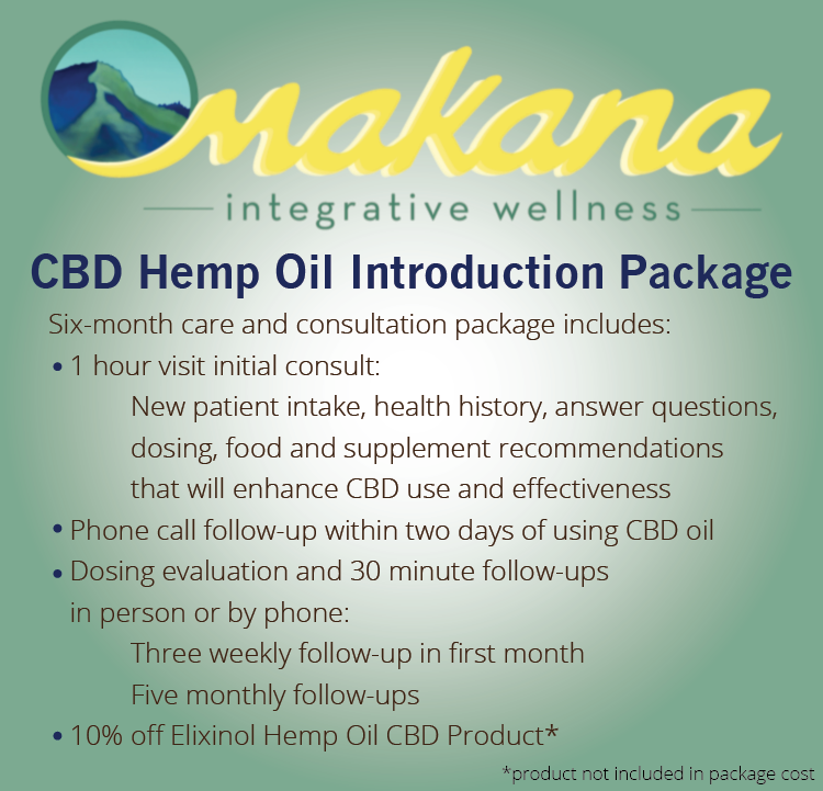 Ready to learn more about CBD Hemp Oil and if it is right for you  ? Call 970-224-4145,  Email makana  wellness@gmail.com   or submit your request online for a free 15 minute   consultation or to schedule your first appointment