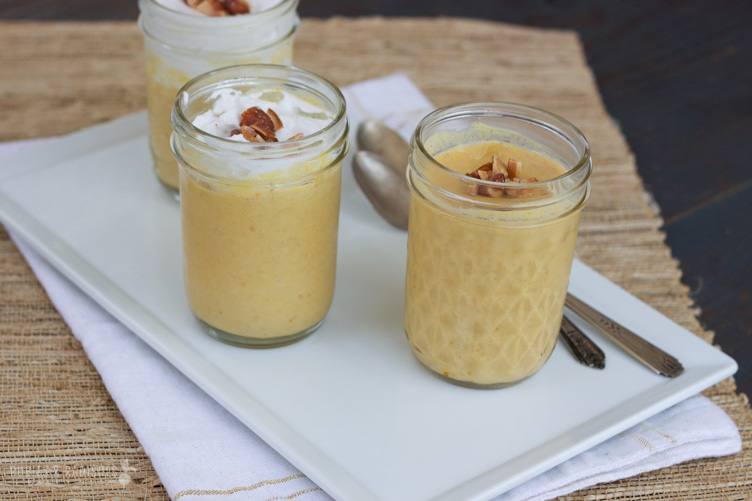 I receive a jar of this delicious dairy free pumpkin panna cotta as a gift and it was delicious! Instead of purchasing coconut cream, simply turn a can of full-fat coconut milk upside down in the refrigerator overnight and then use only the think cream. Make sure to use a high quality, grass-fed gelatin to get all the health benefits. Get the recipe   here