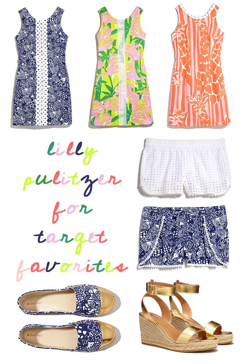 Lilly Pulitzer for Target | Favorites, Inspiration and Shopping Tips Roundup | Sundays and Somedays