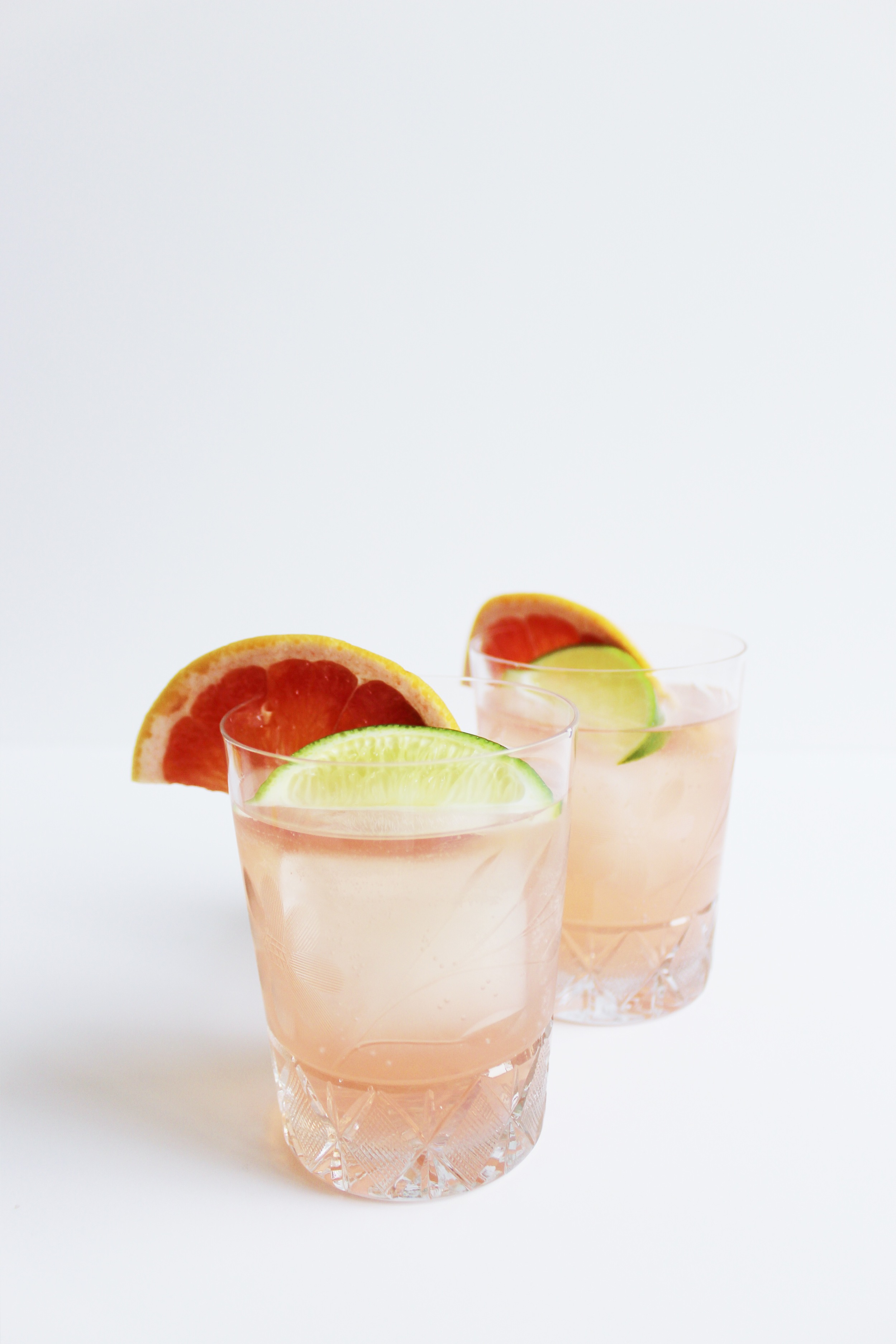 Celebrate Cinco de Mayo with a 2-Ingredient Paloma - Just Grapefruit Soda and Tequila | Sundays and Somedays