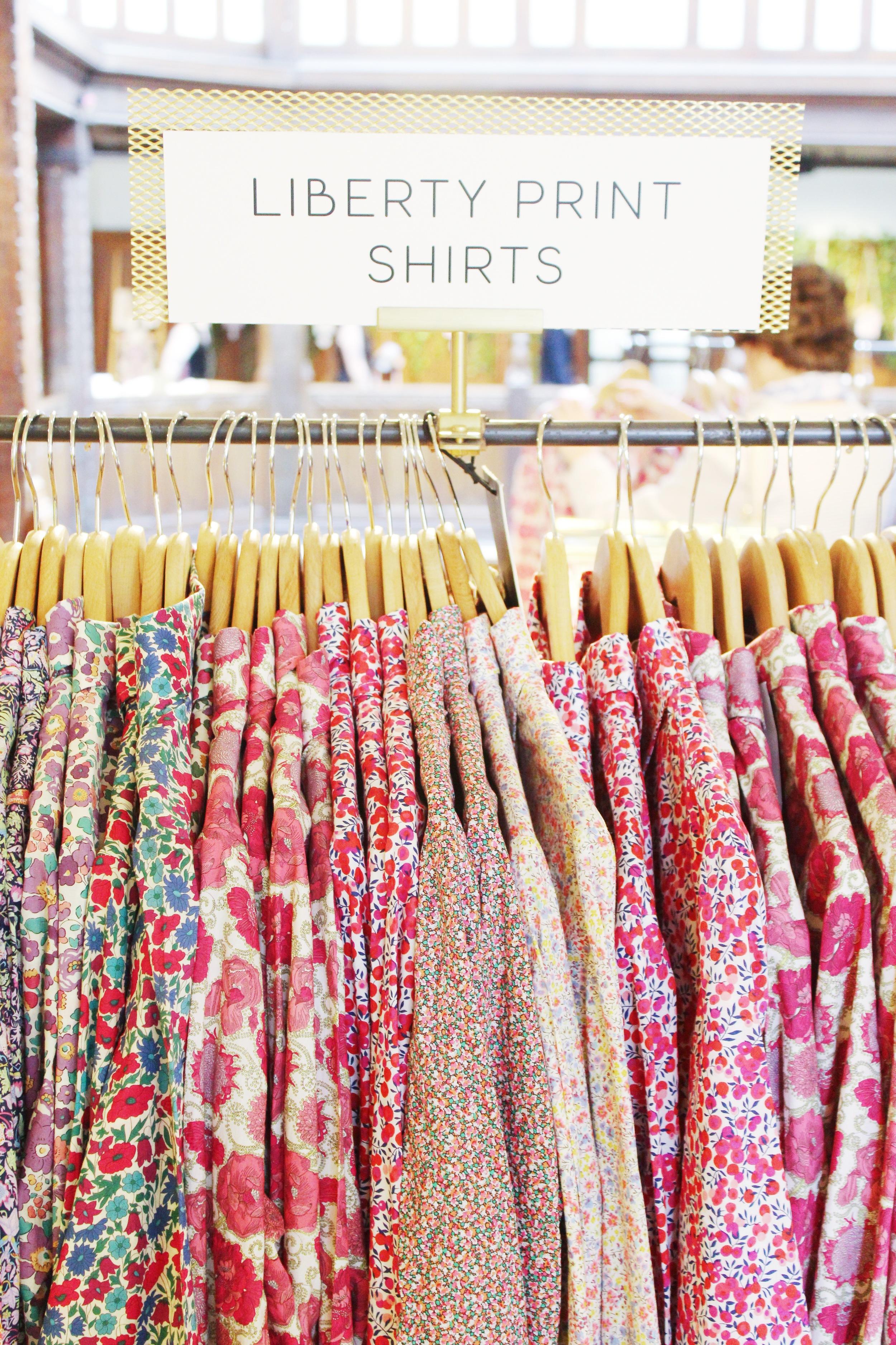 London To-Do's - Liberty London Shirts  | Sundays and Somedays