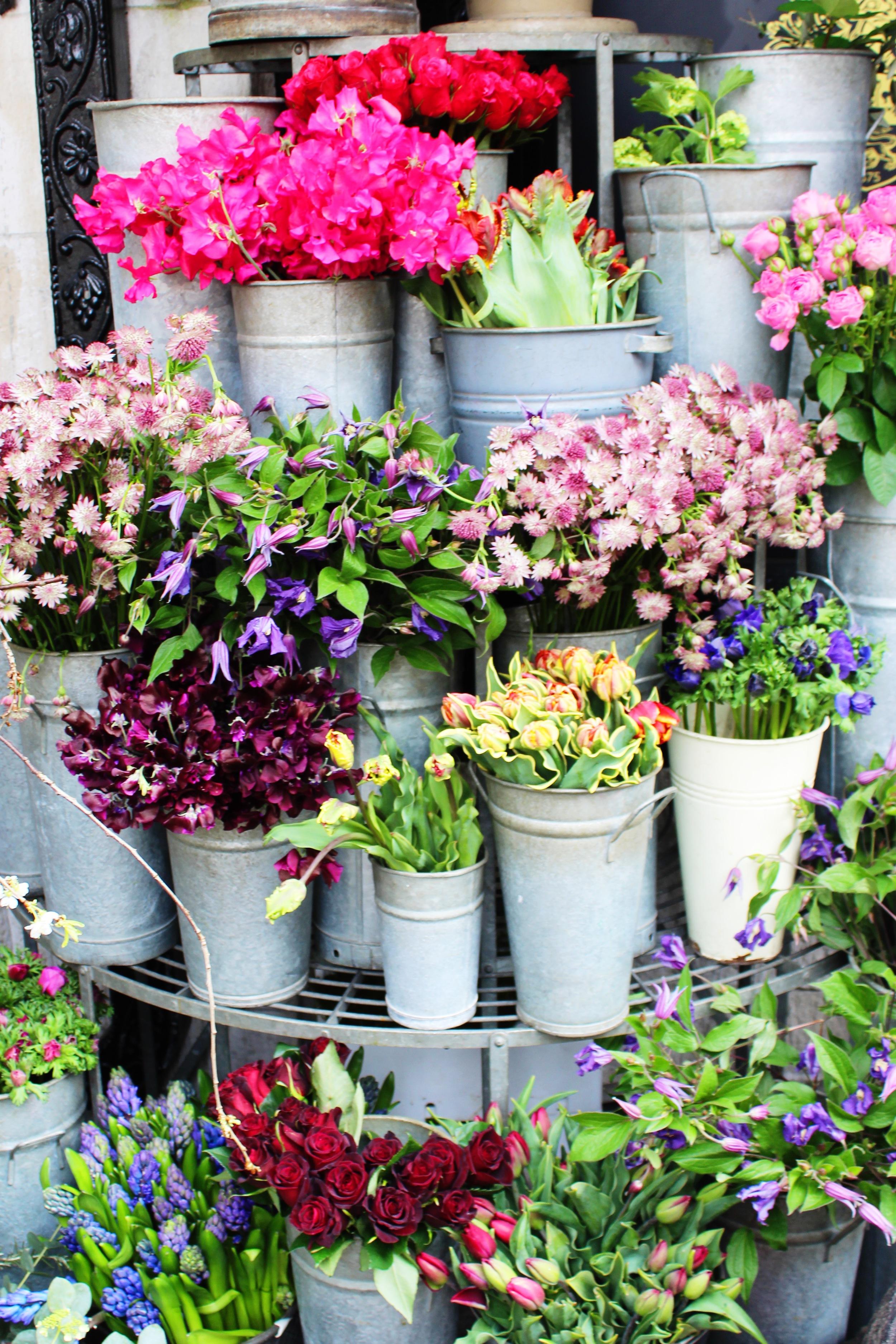 Liberty London Flowers | Sundays and Somedays