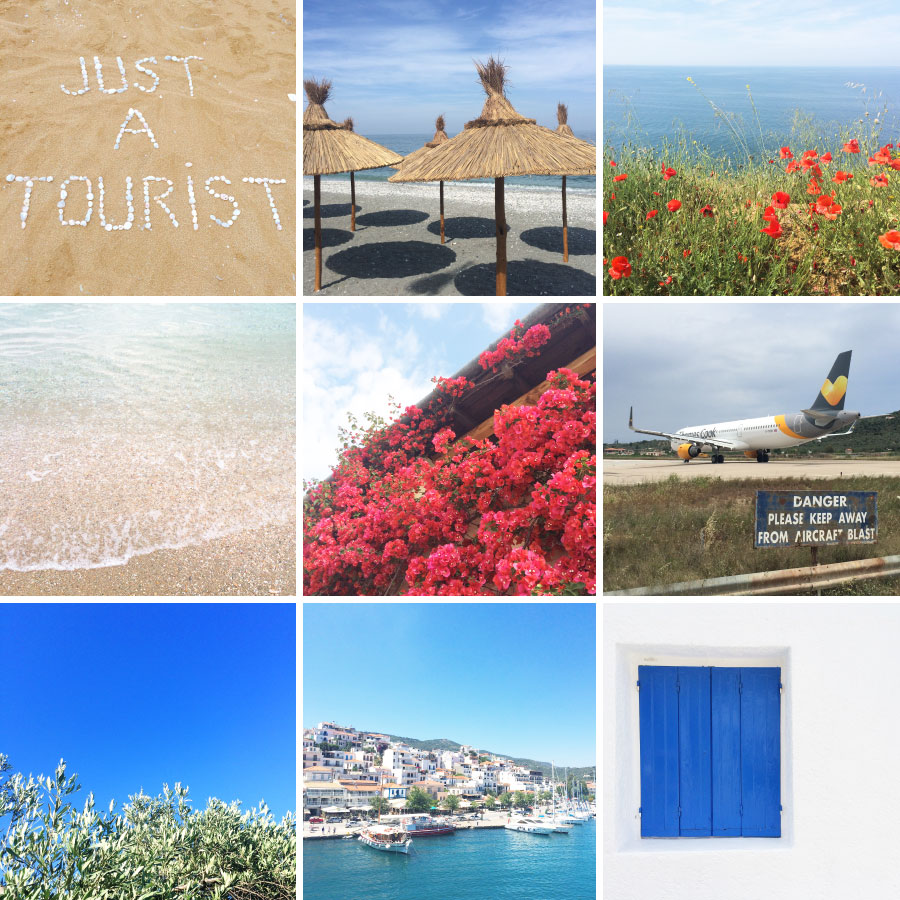 May in Photos - Greek Beaches, Pink Petals and Olive Trees | Sundays and Somedays
