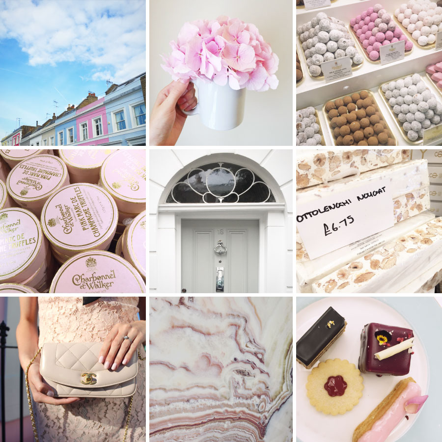 September in photos - pretty pastries, charming neighborhoods, and Chanel