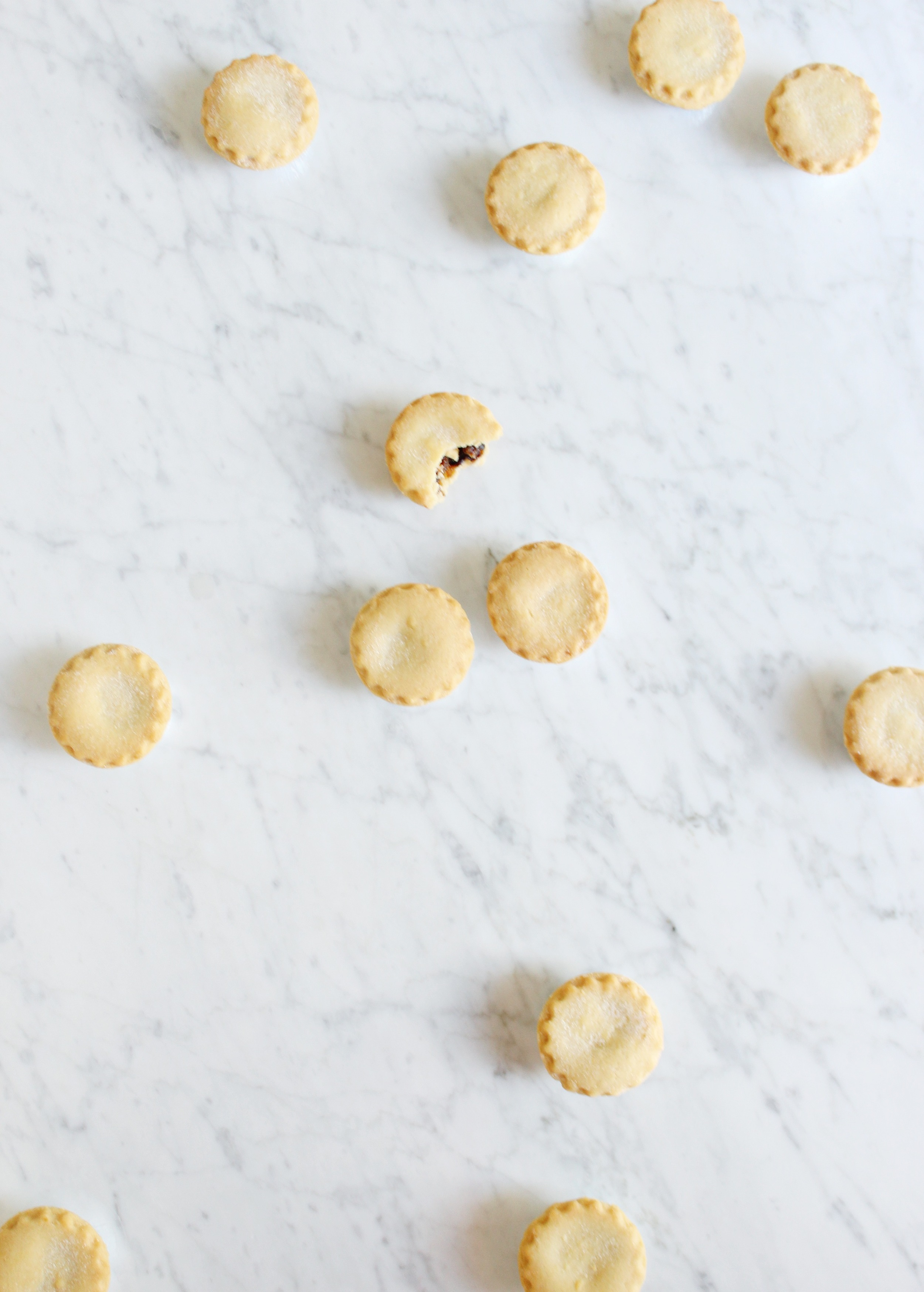 Adding mince pies to our annual holiday traditions!