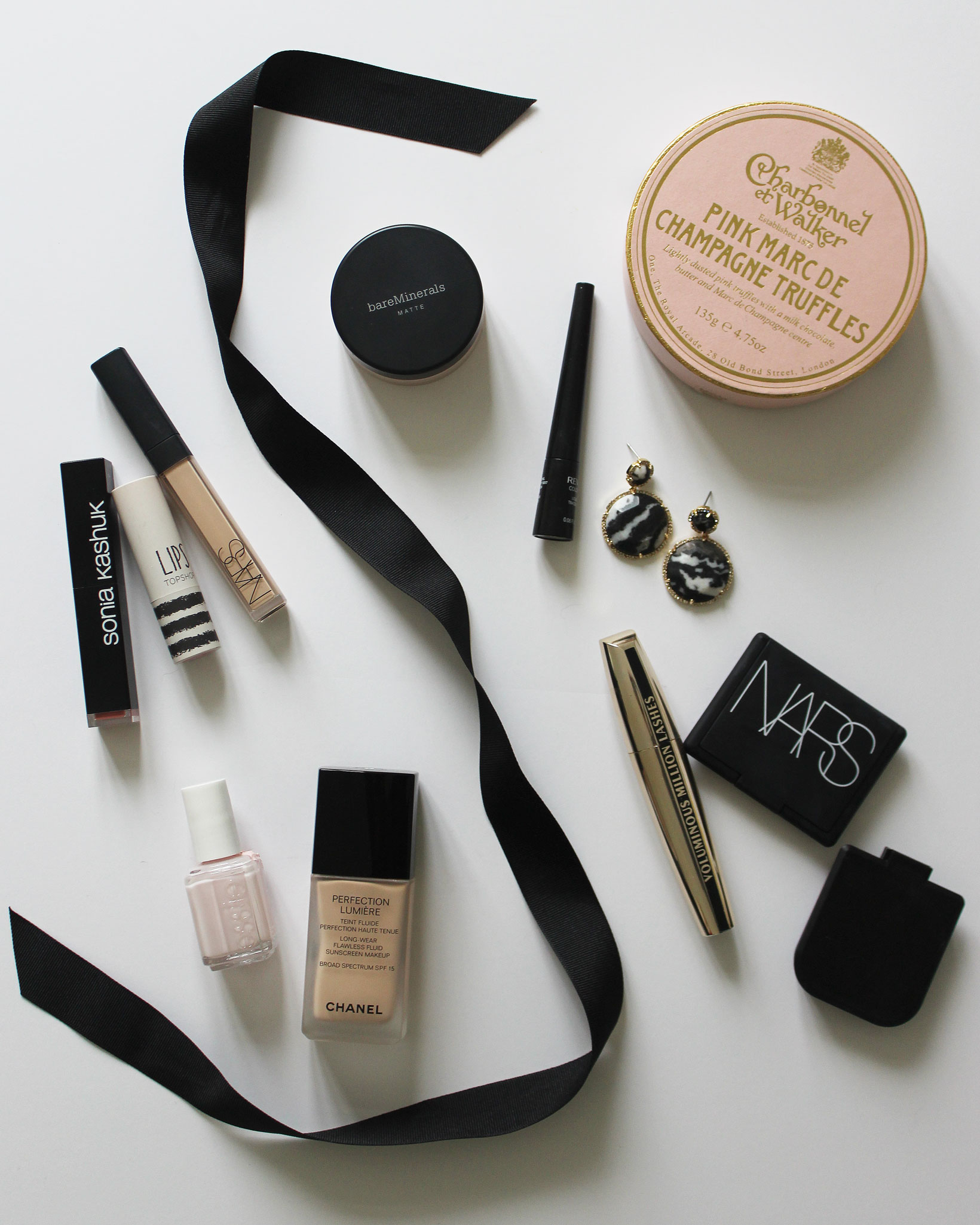 Beauty must-haves: Chanel, Essie, NARS, bareMinerals, and Topshop