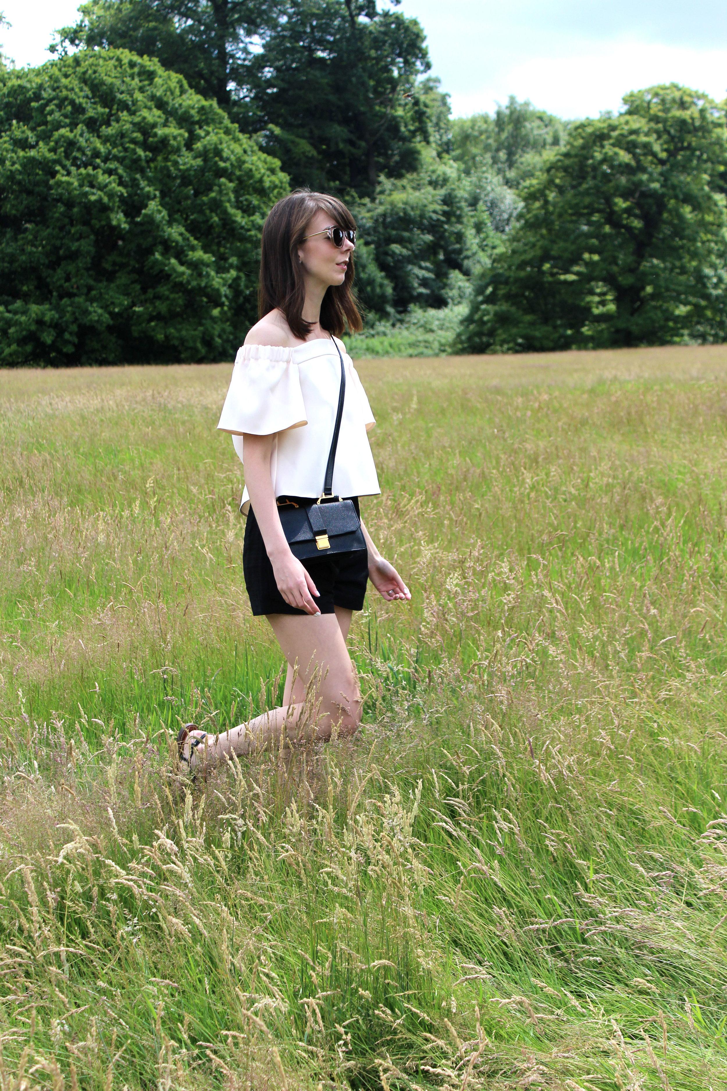 Wandering through Hampstead Heath park in London.