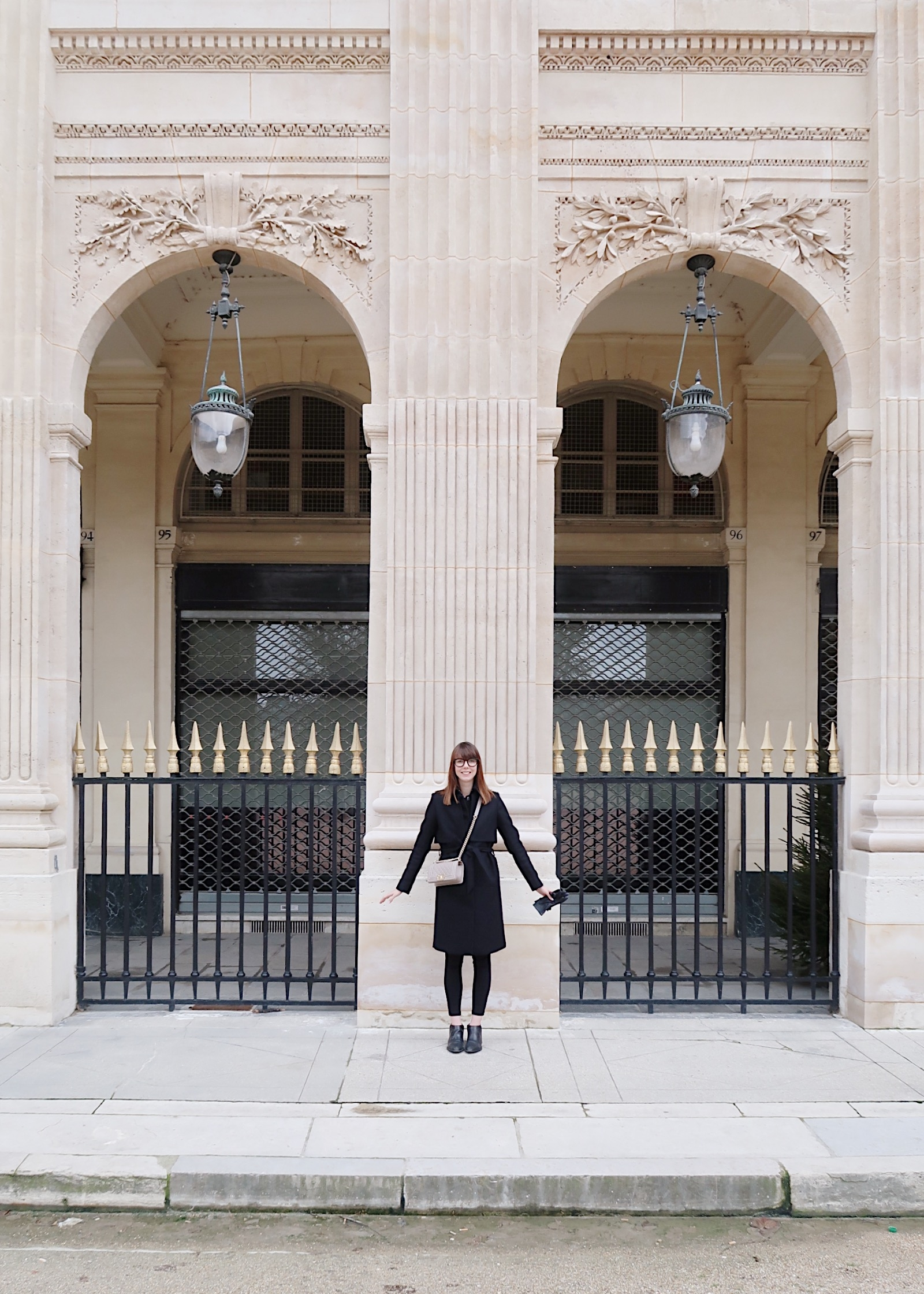 A Vegan Girls Weekend to Paris | The best spot for a photo op in Paris? Forget the Eiffel Tower - it's all about the Palais Royale  | Sundays and Somedays