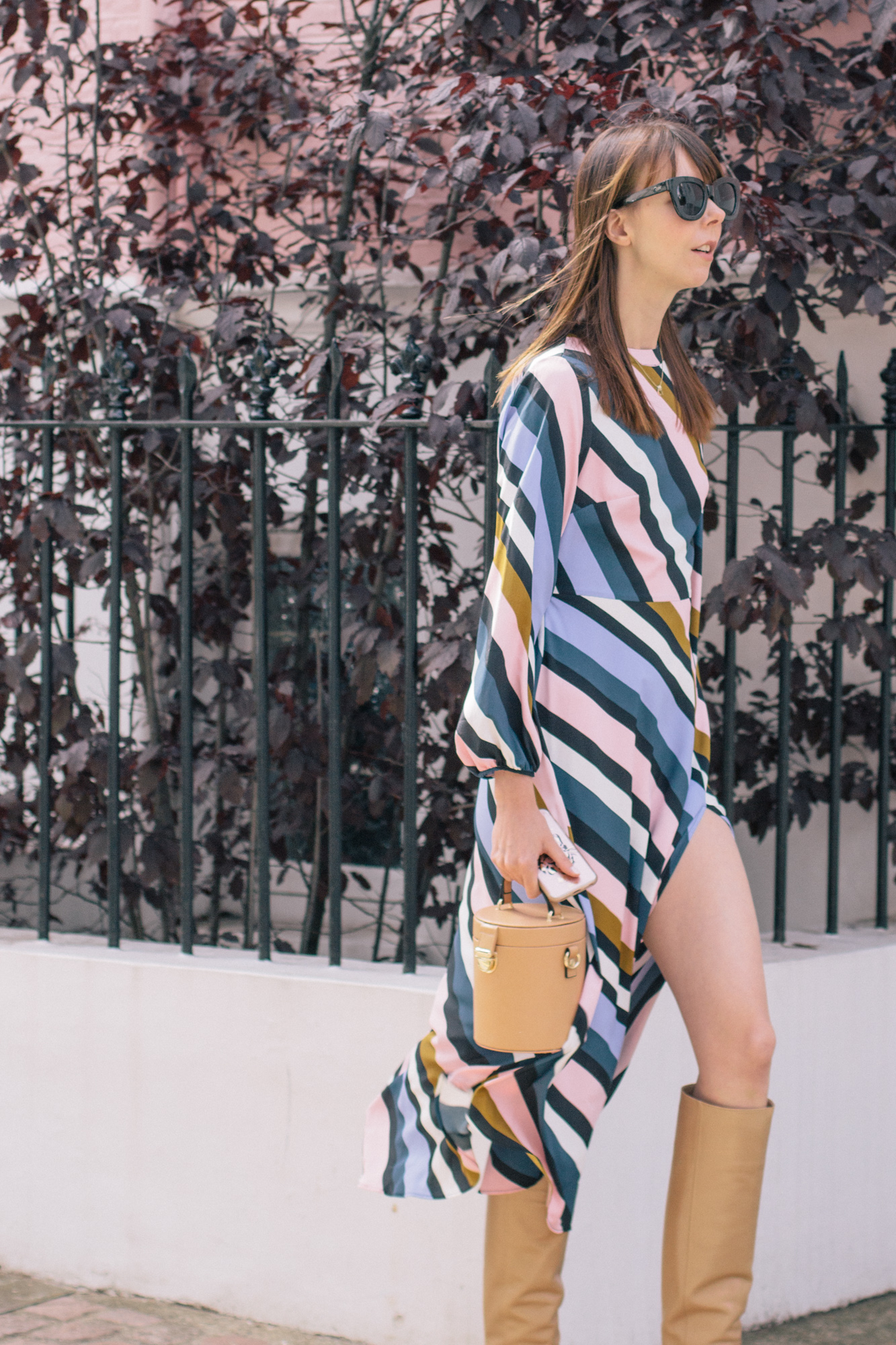 Striped Topshop Dress Pink House Notting Hill Gate-12.jpg
