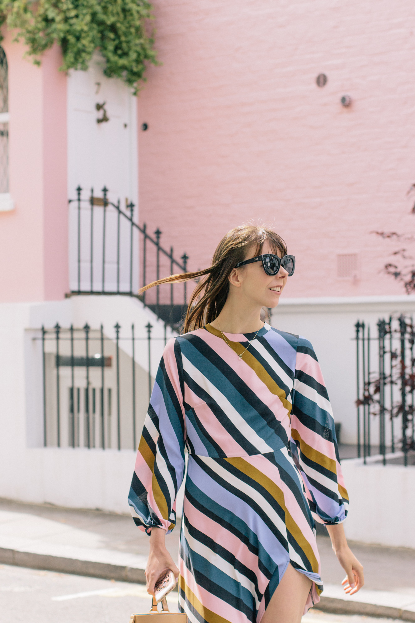 Striped Topshop Dress Pink House Notting Hill Gate-18.jpg