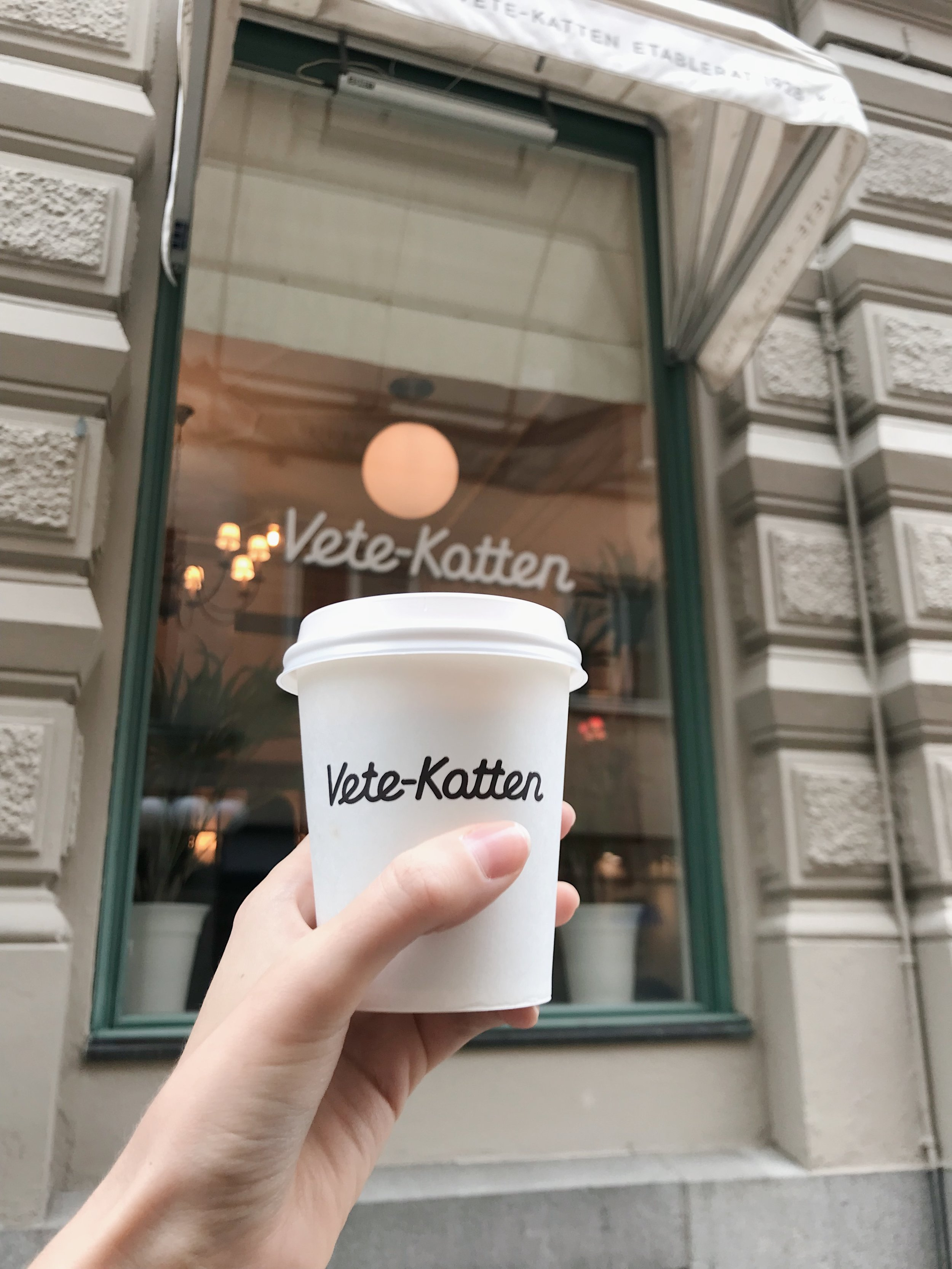 Vete-Katten - This is most certainly the equivalent of Cafe Kitsuné in Paris. Good coffee (in an oh-so-Instagrammable cup). Perfect for a grab and go beverage to keep you warm while wandering the streets.