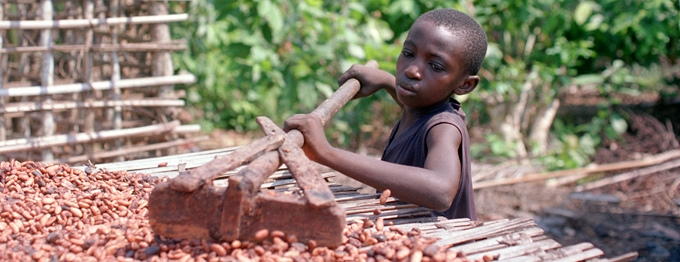 Child slavery in West Africa is still a major issue despite the efforts made by the Harkin-Engel Protocol in 2001.
