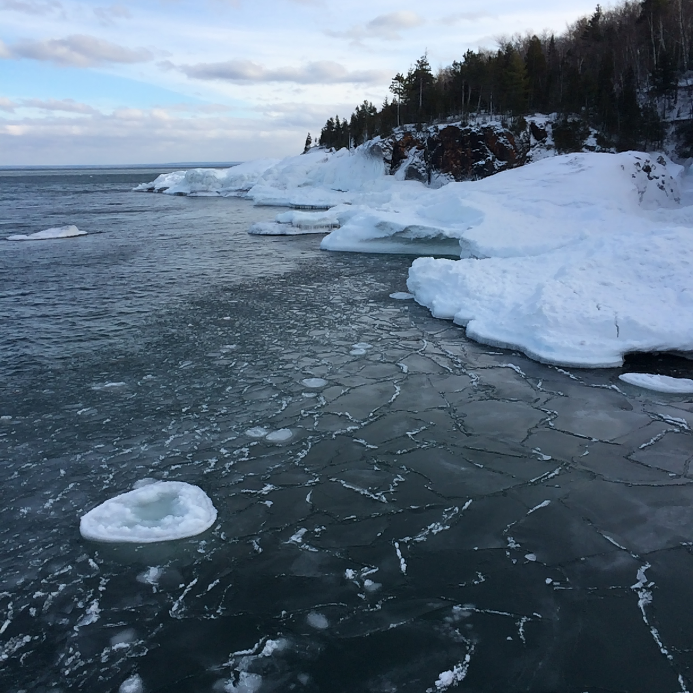 Photo of Lake Superior taken by Eliza Short