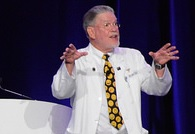"""Dr. Stuart Robertshaw, """"Dr. Humor,"""" presented The Healing Power of Humor on November 4, during the Jackson County Diabetes Alliance Annual Wellness Event."""