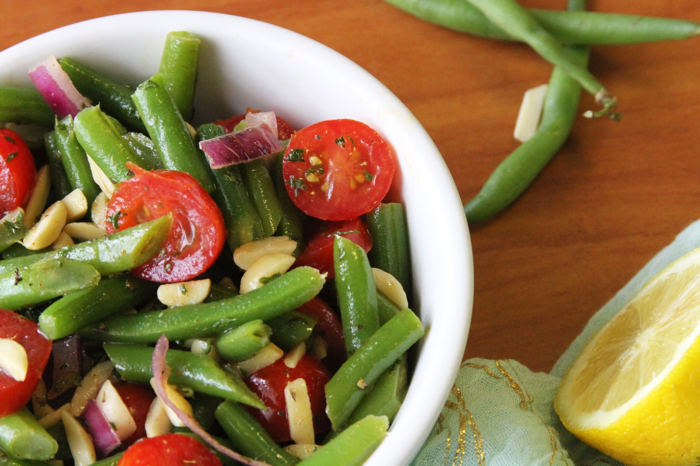 Spritely Green Bean Salad    Photo: Barb Brower