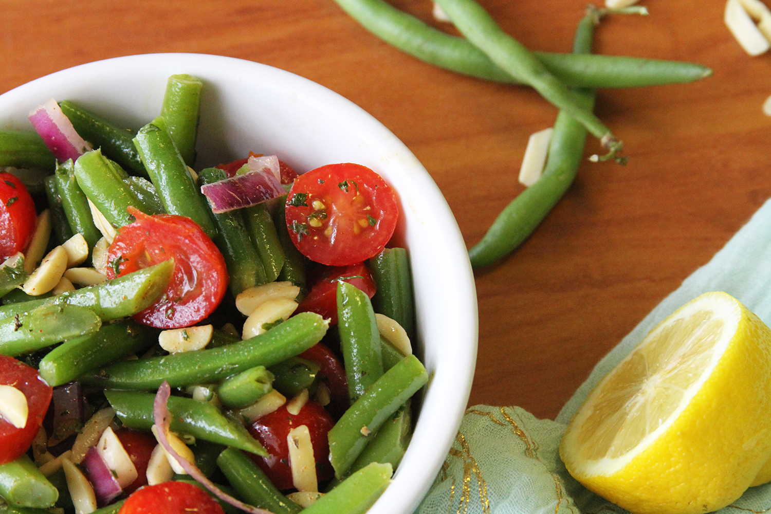 SPRITELY GREEN BEAN SALAD RECIPE