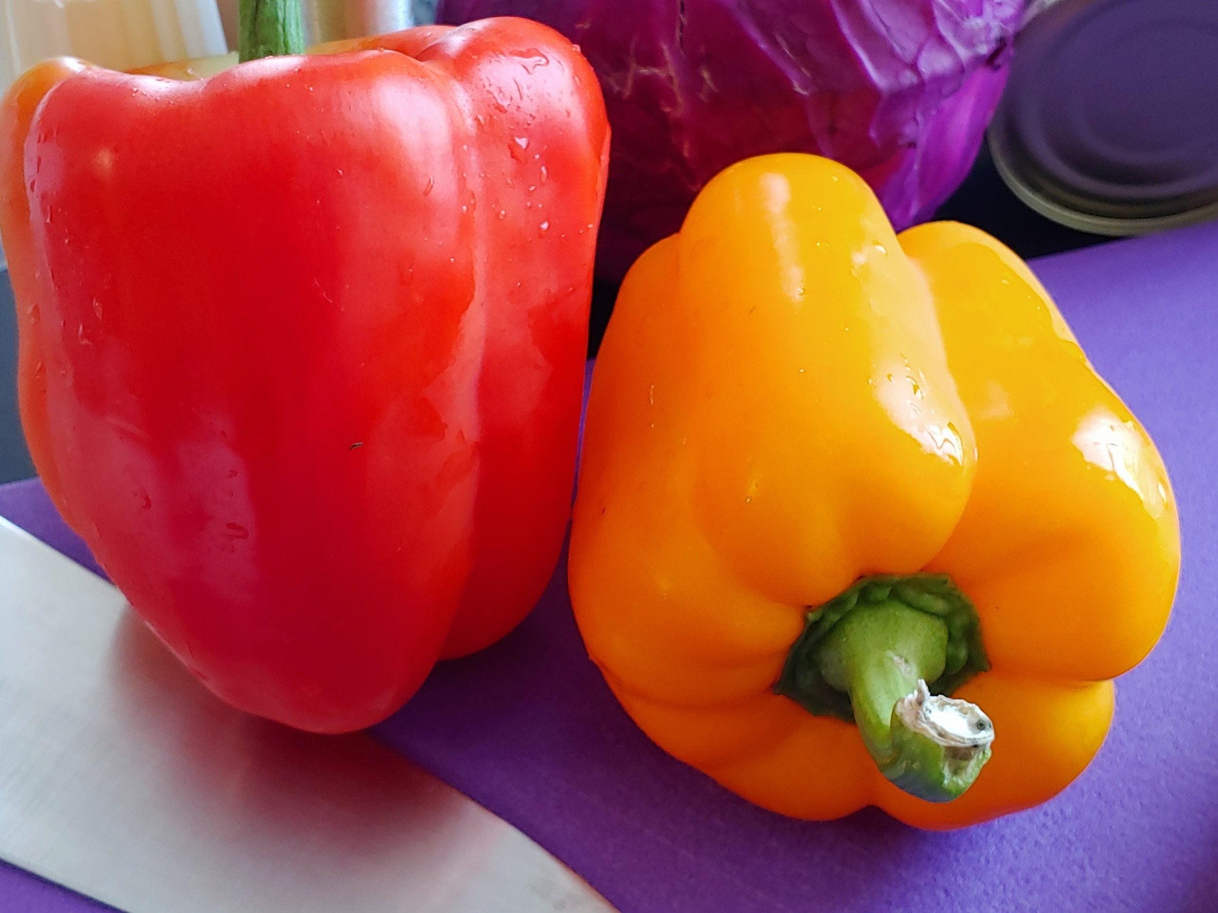 Bell Peppers - Harvest of the Month August