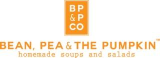 Bean, Pea & The Pumpkin Logo