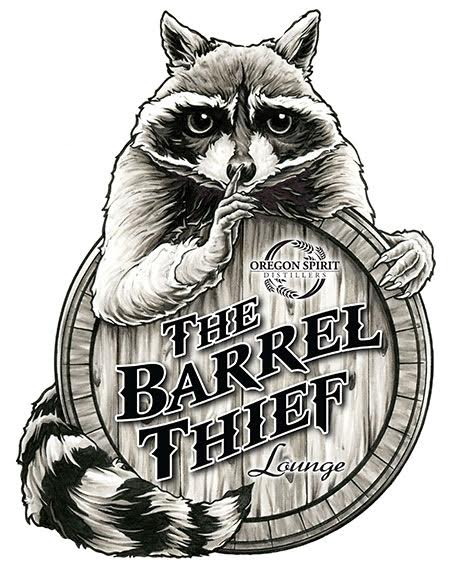 The Barrel Thief Lounge Logo