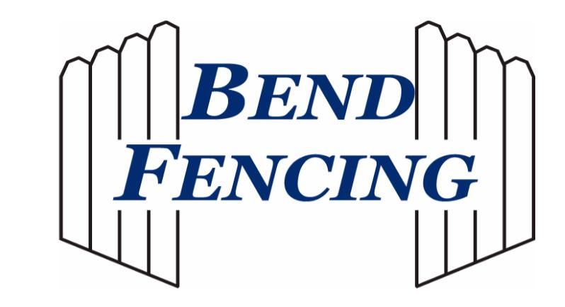 Bend Fencing Logo
