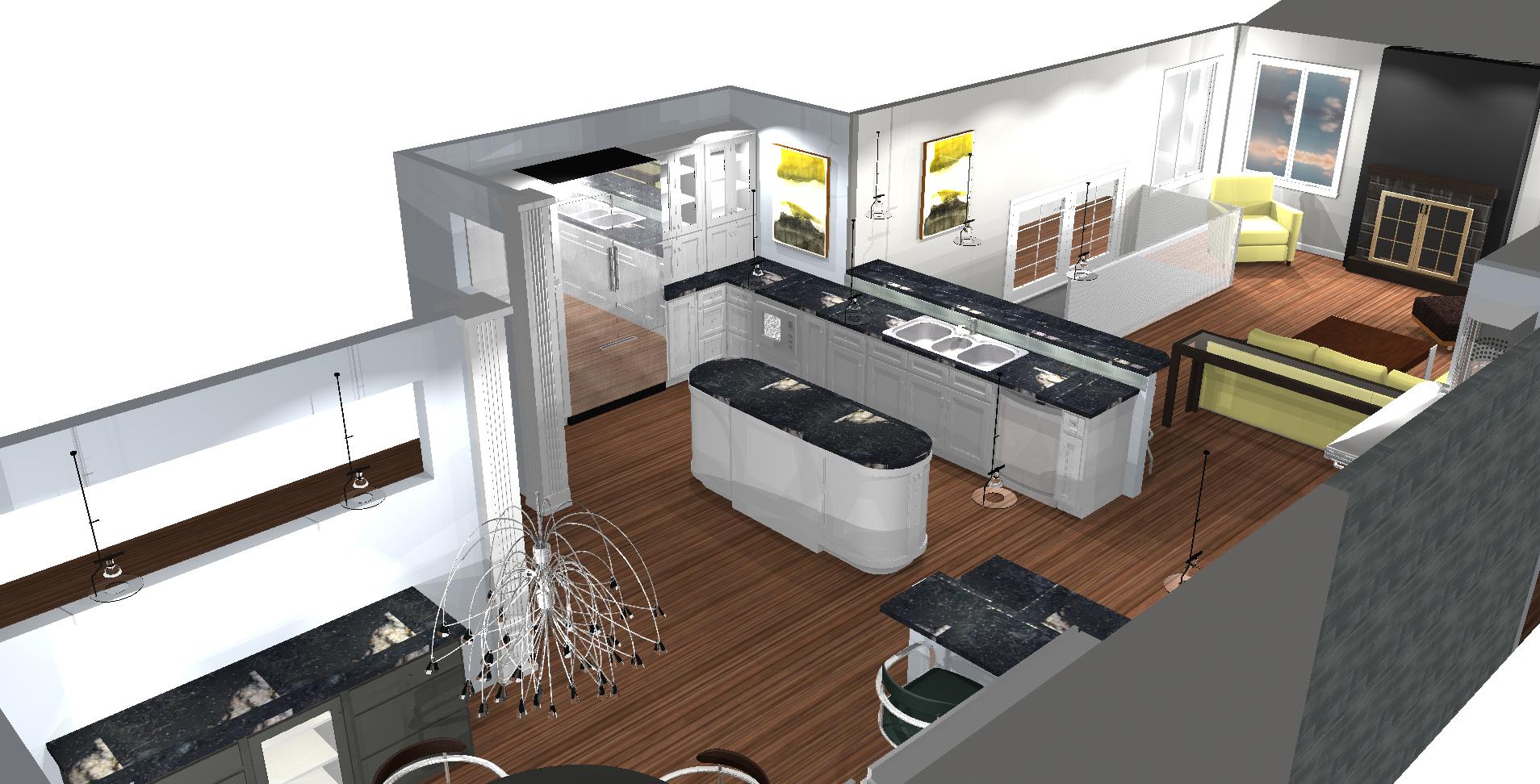 Custom Kitchen Design Concept