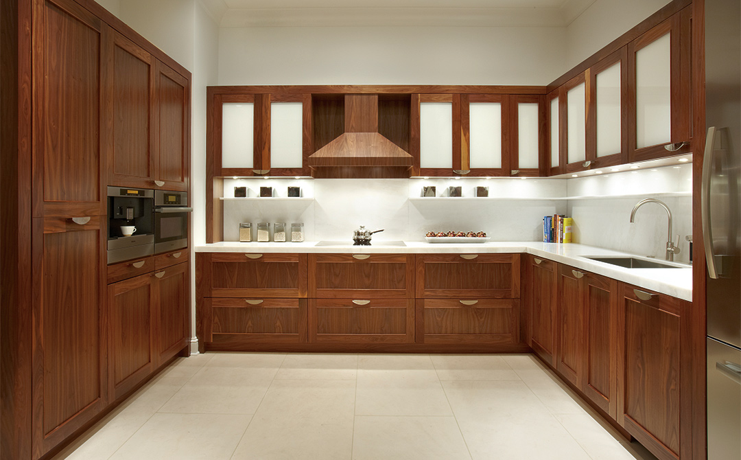 Wood. One wouldn't think it's an exciting topic but when discussing kitchen cabinetry, it's a primary concern. Especially when it comes to the elegant and elusive American Black Walnut.
