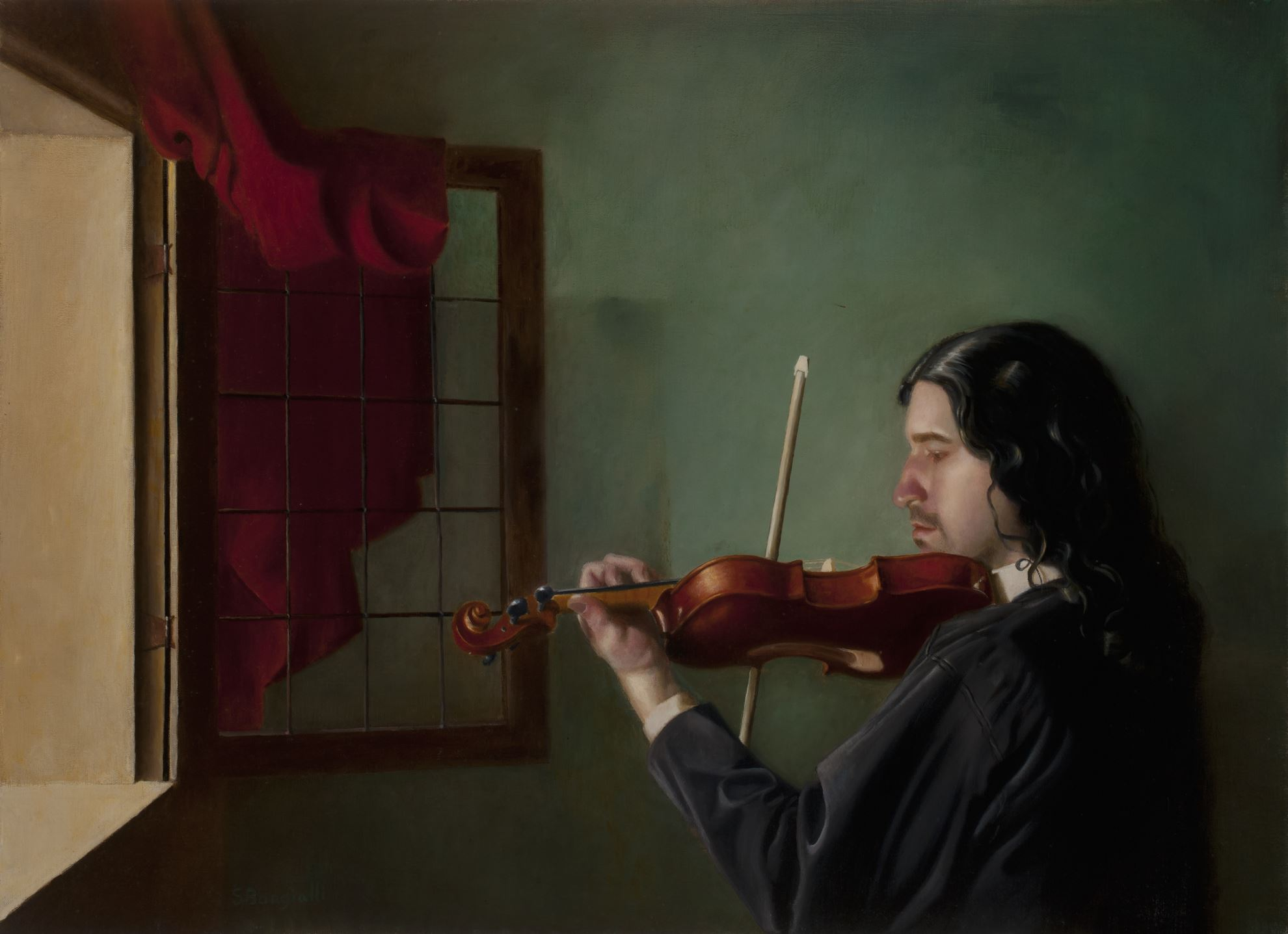 THE MUSICIAN, 44 X 32
