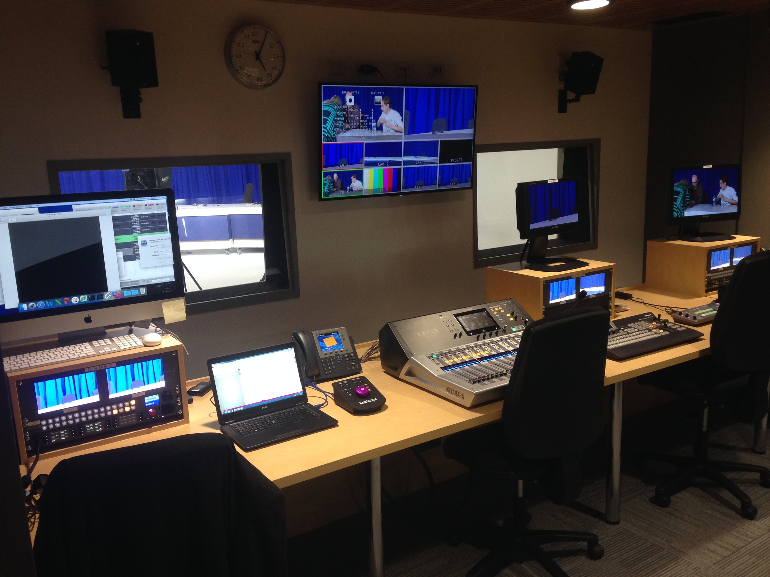 in the control room at monash university