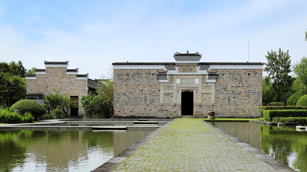 Original Ming Dynasty facade