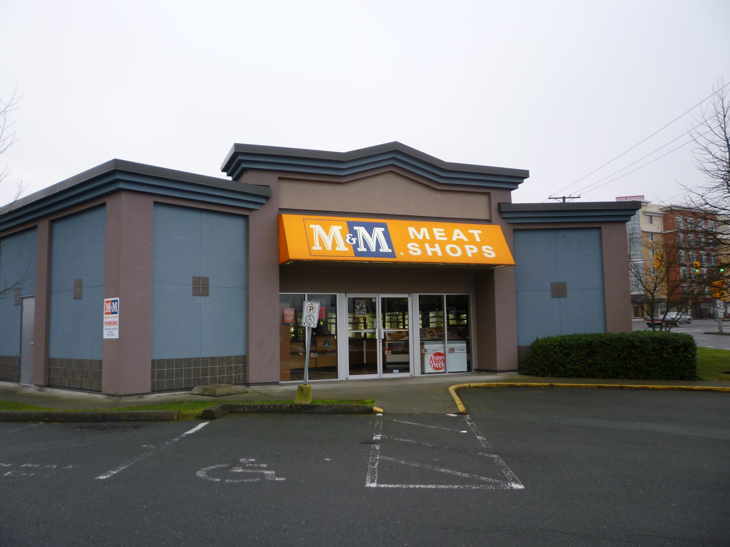 M&M Meat Shop Burnside Road