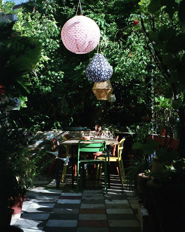 our patio reno (but not really) | exarchia airbnb one year ago