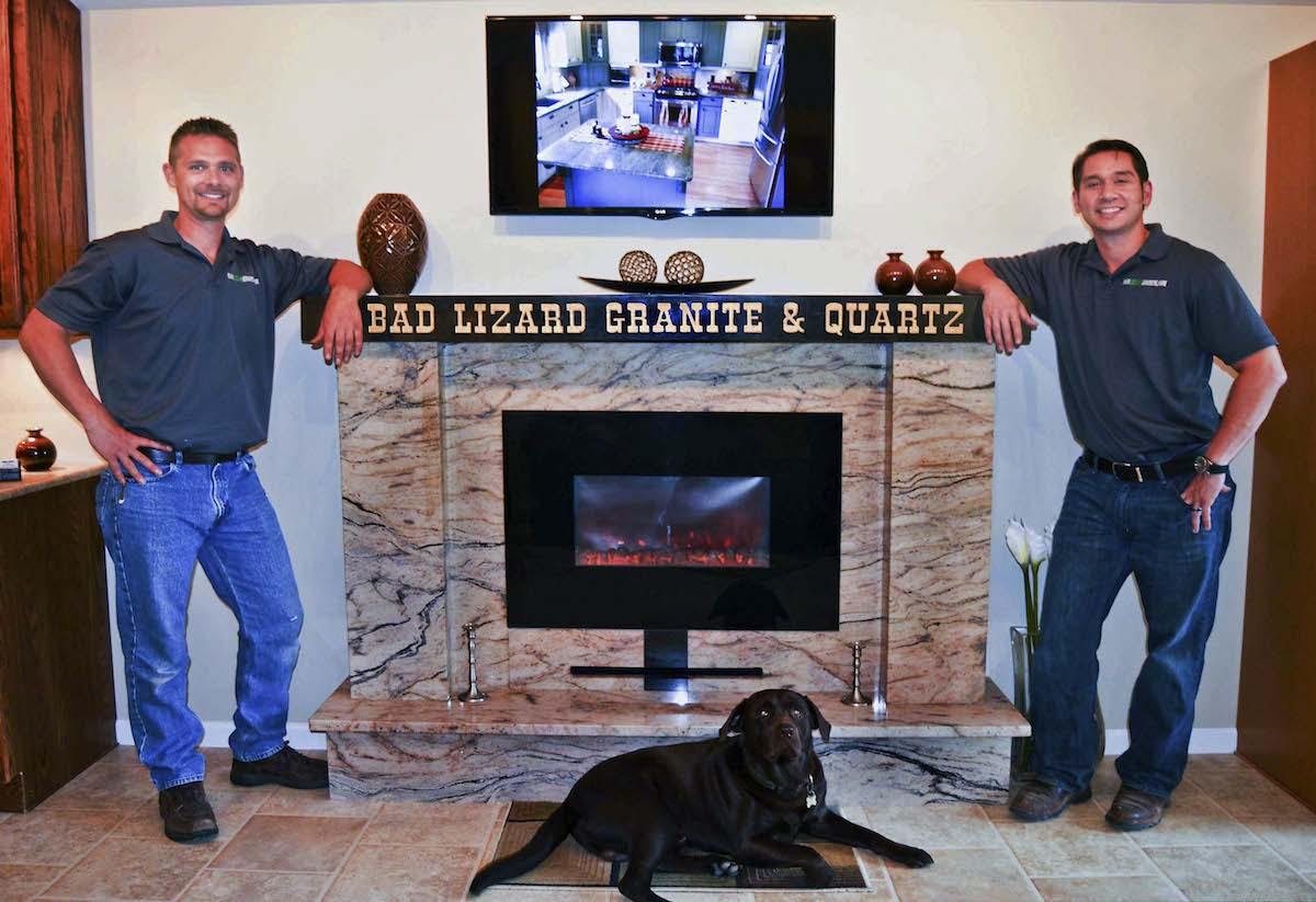Bad Lizard Granite Quartz Clarksburg WV