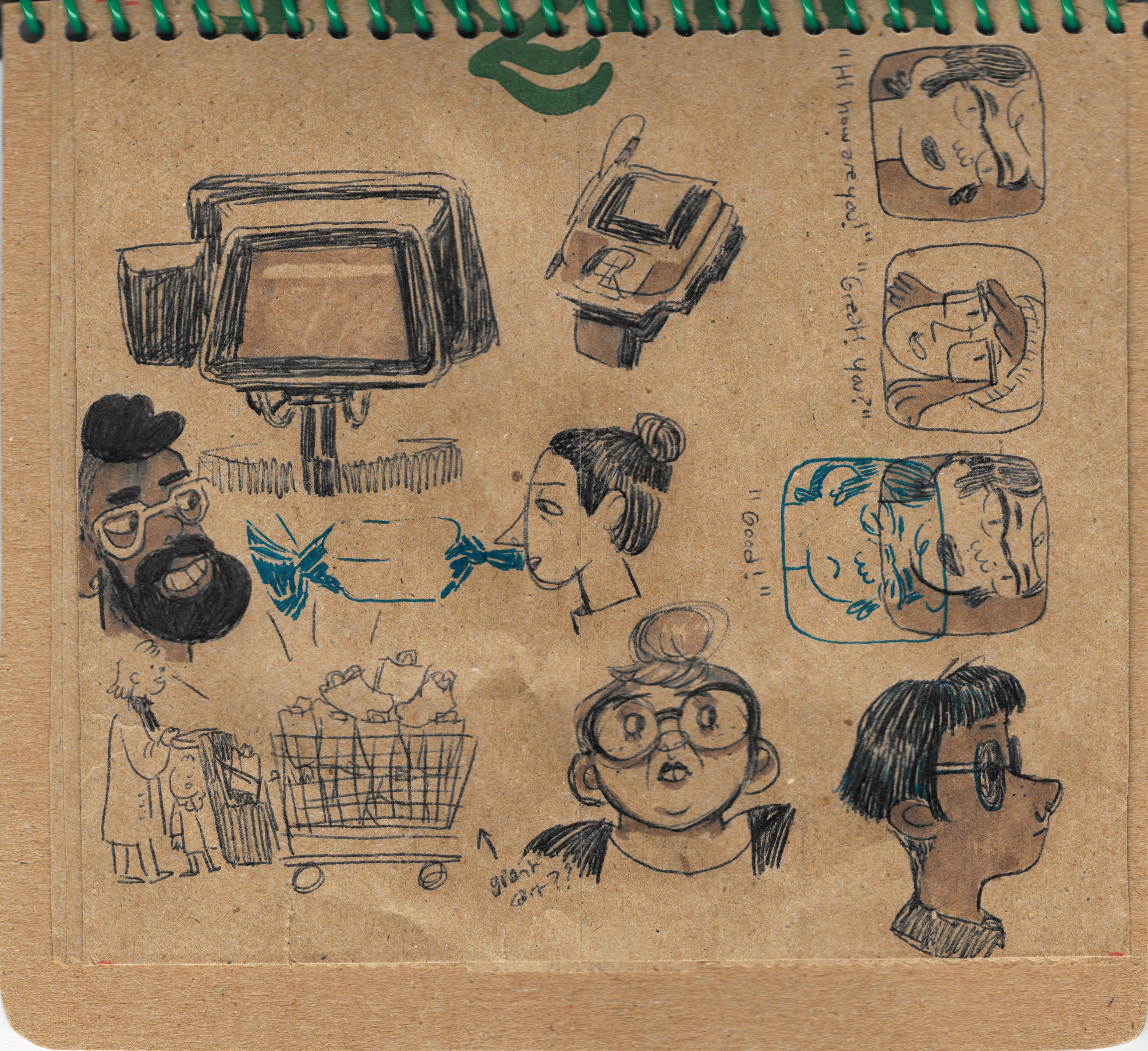 Brown Bag Sketchbook #2