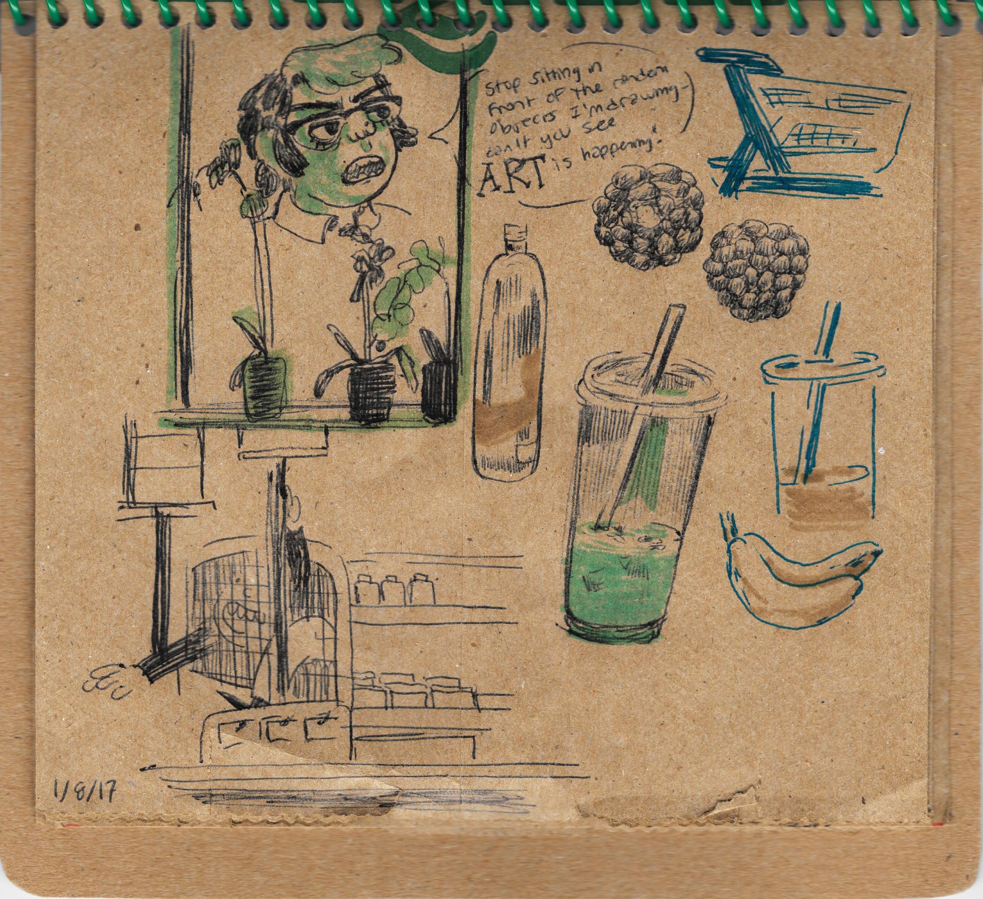 Brown Bag Sketchbook #1
