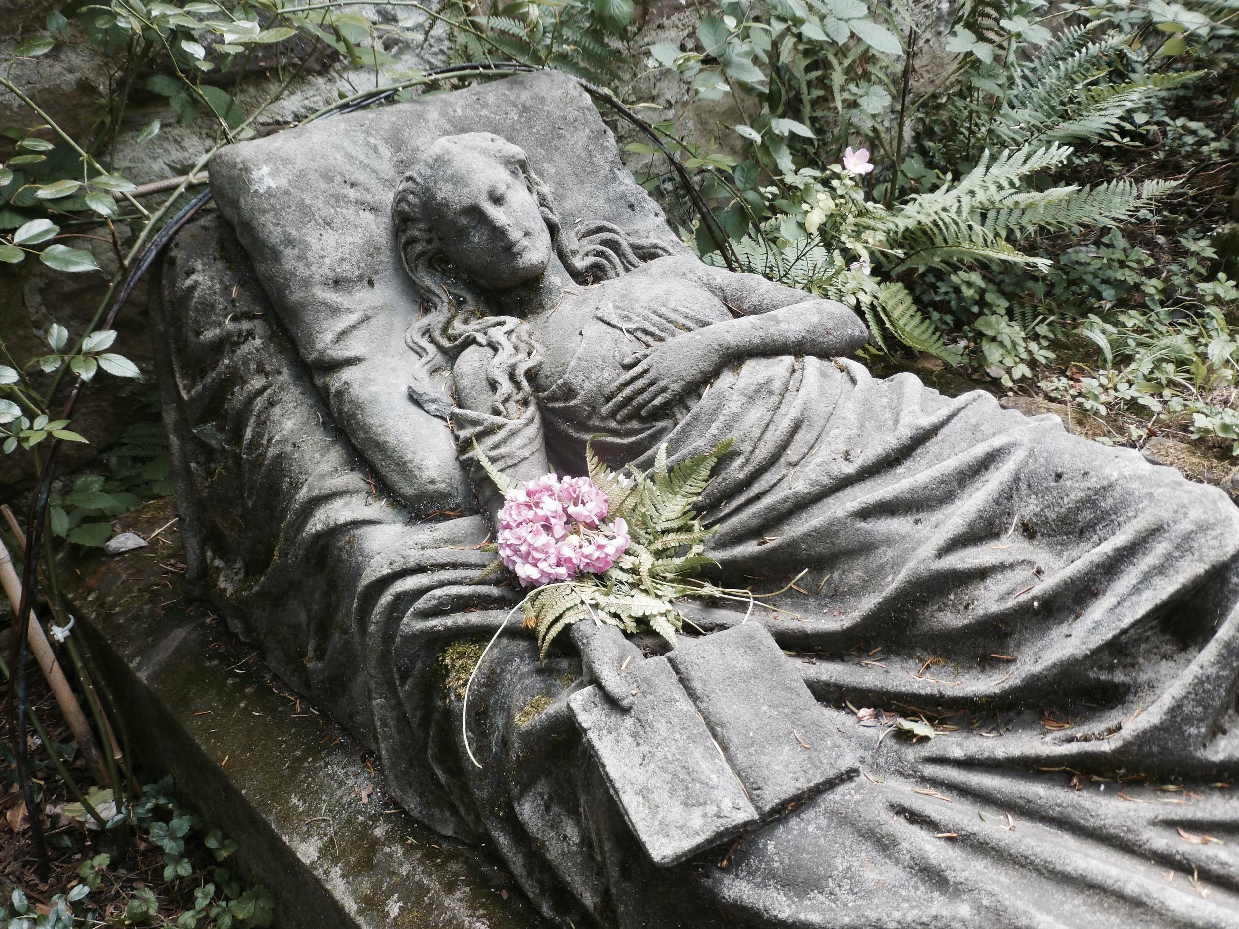 Caroline Walter, Old Cemetery, Freiburg