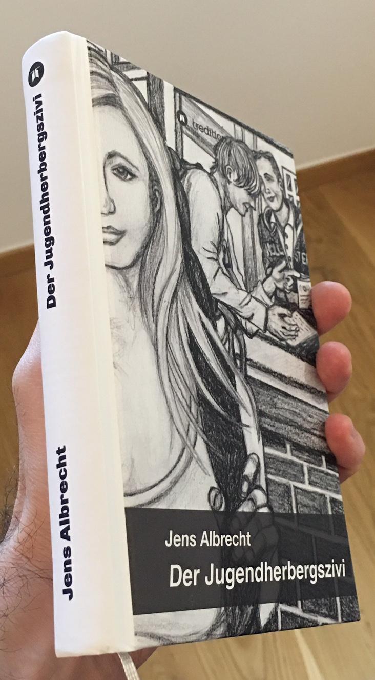 "Book Cover ""Der Jugendherbergszivi"""