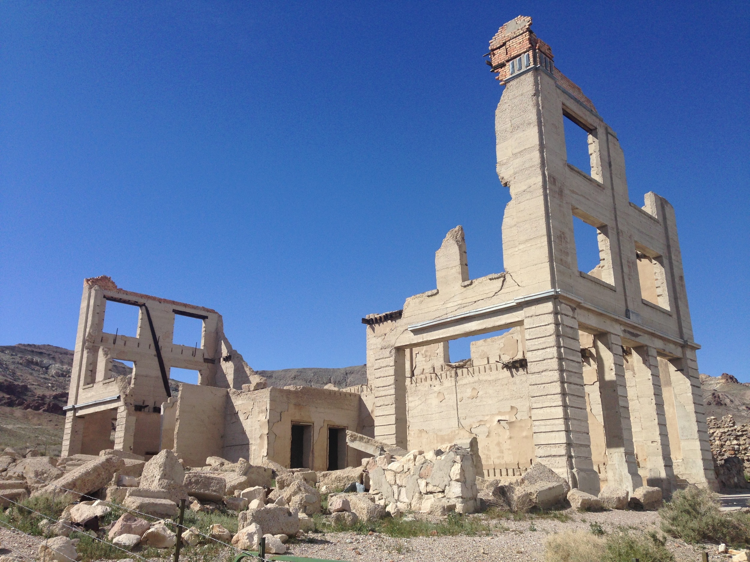 Ruins of the John S. Cook and Co. Bank