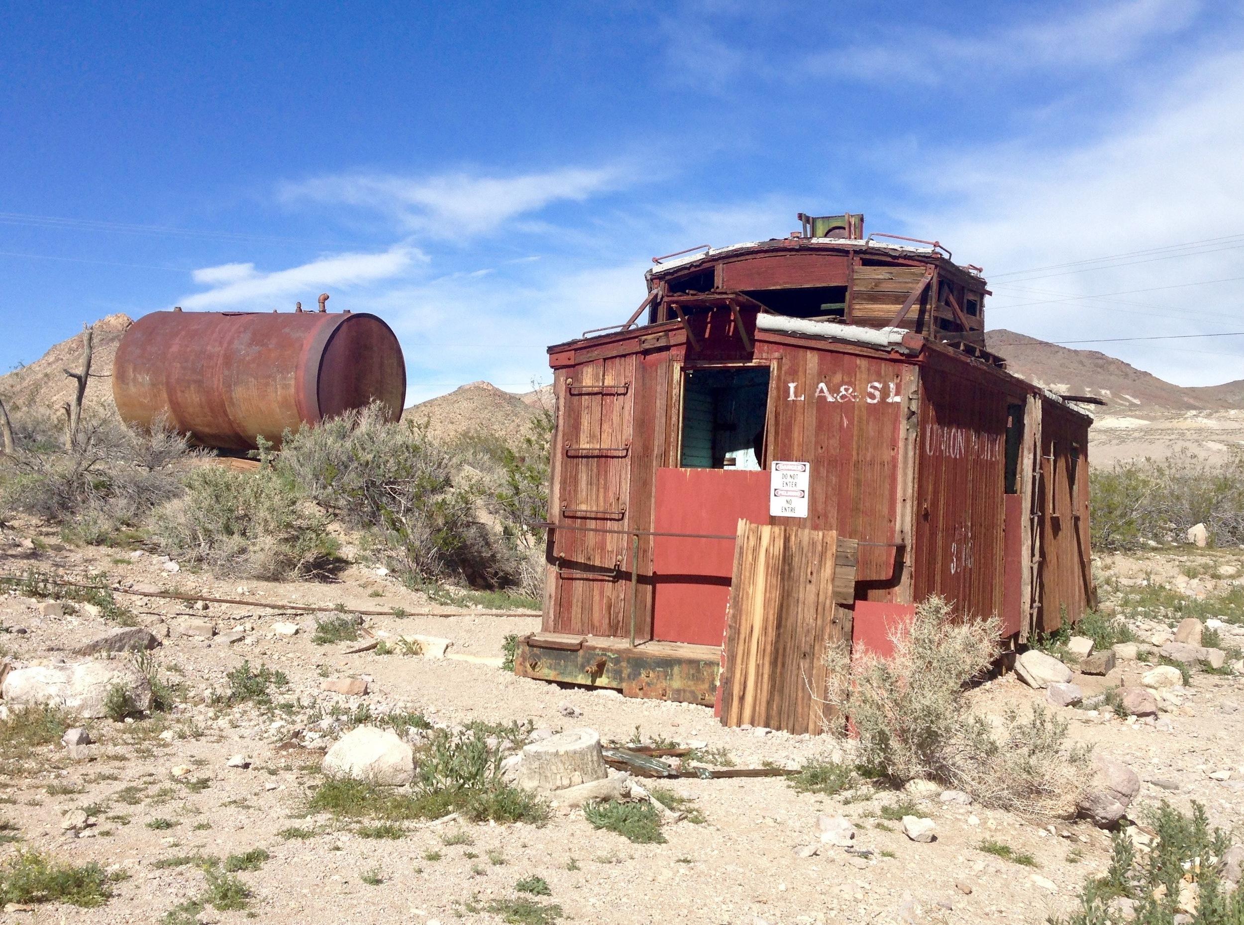 Union Pacific railroad wagon