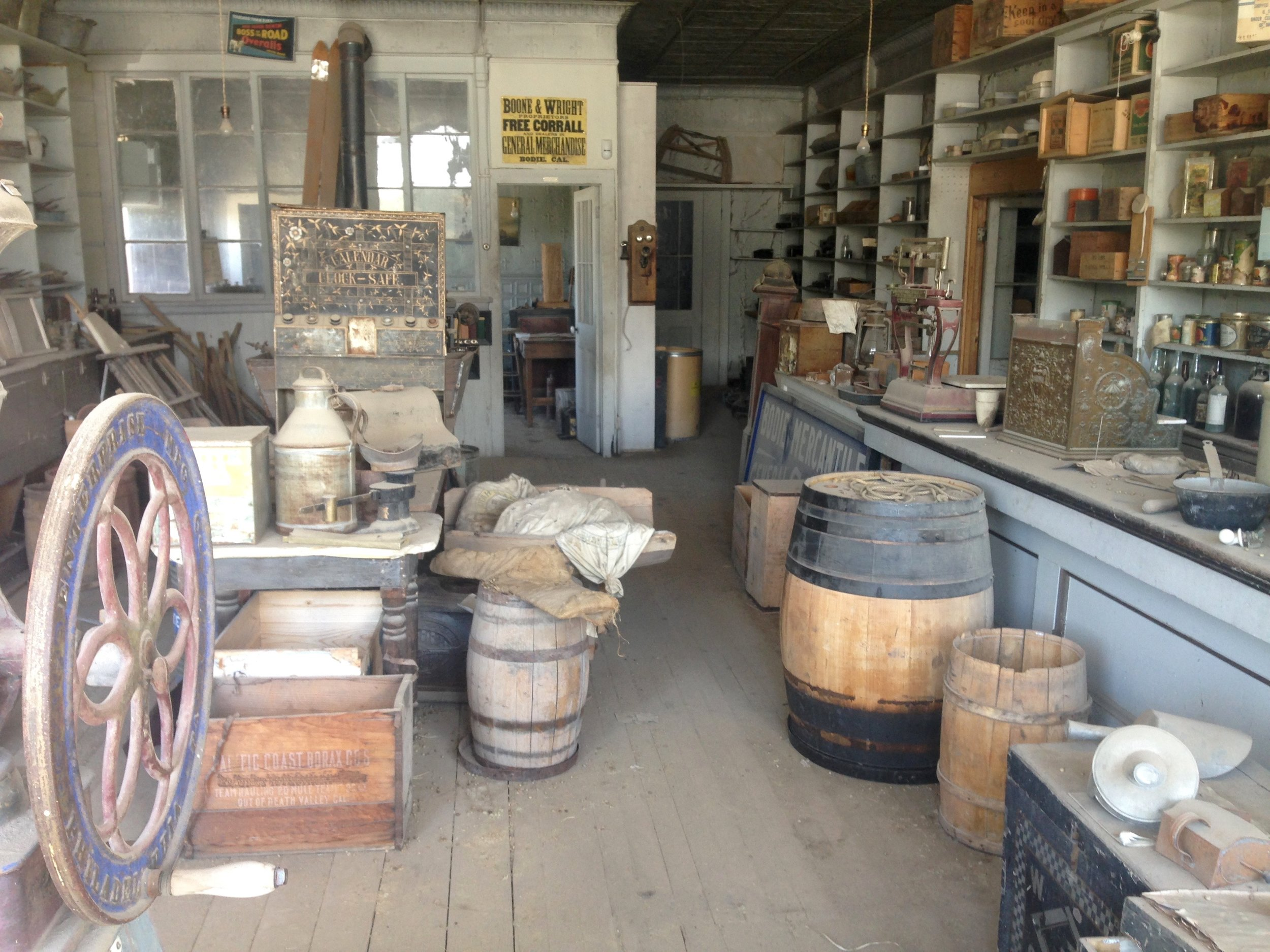 Boone Store & Warehouse -General store with products from that era