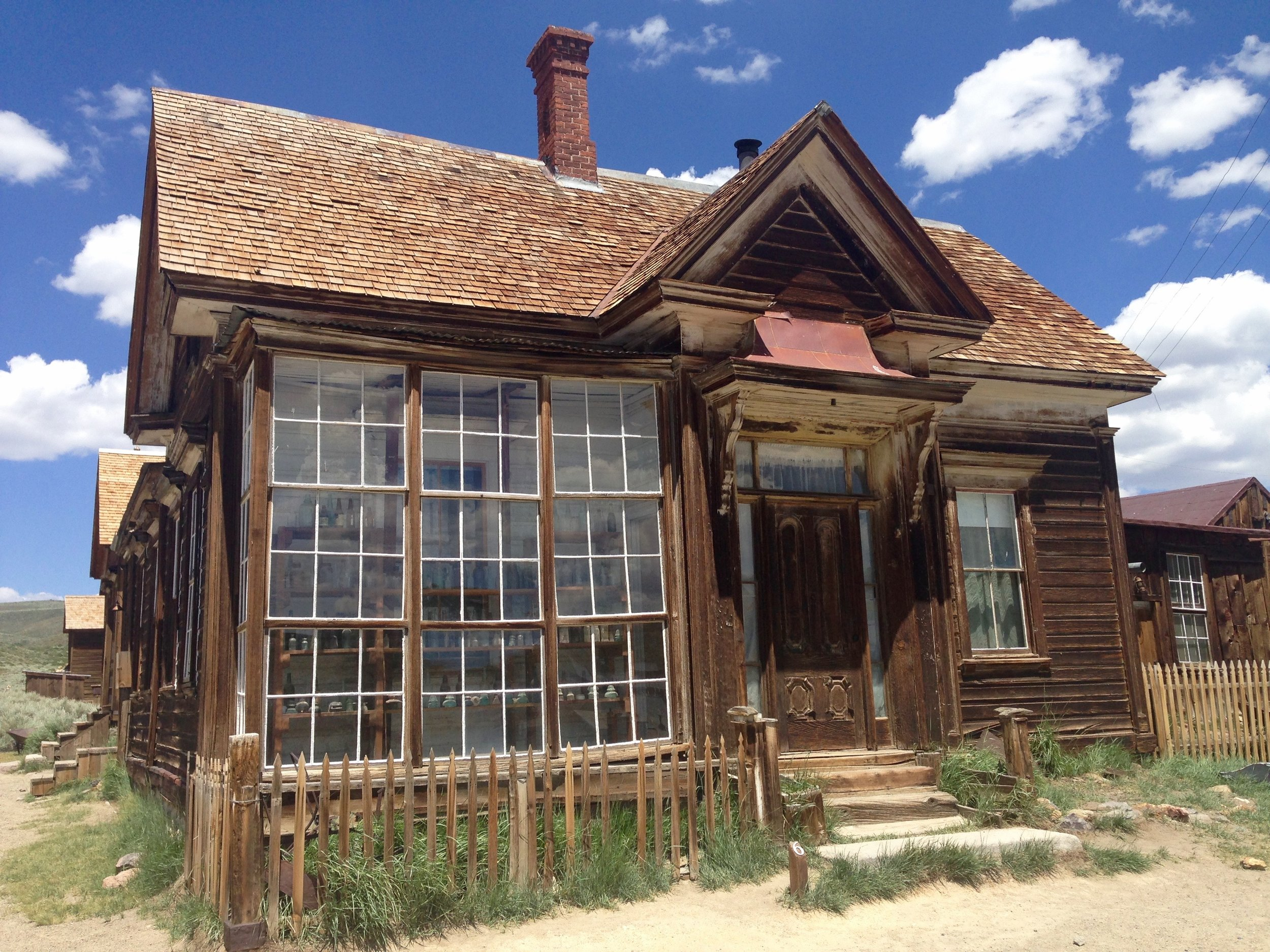 James Stuart Cain Residence - Cain made his fortune with lumber. He bought the Bodie Bank in 1890 and the Standard Company mining properties in 1915.