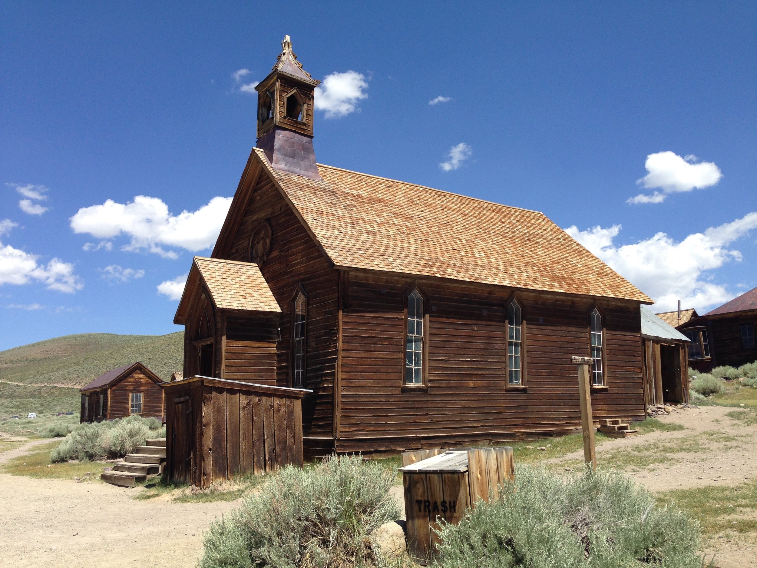 The Methodist Church was erected in 1882 and still stands. The last service held in 1932.