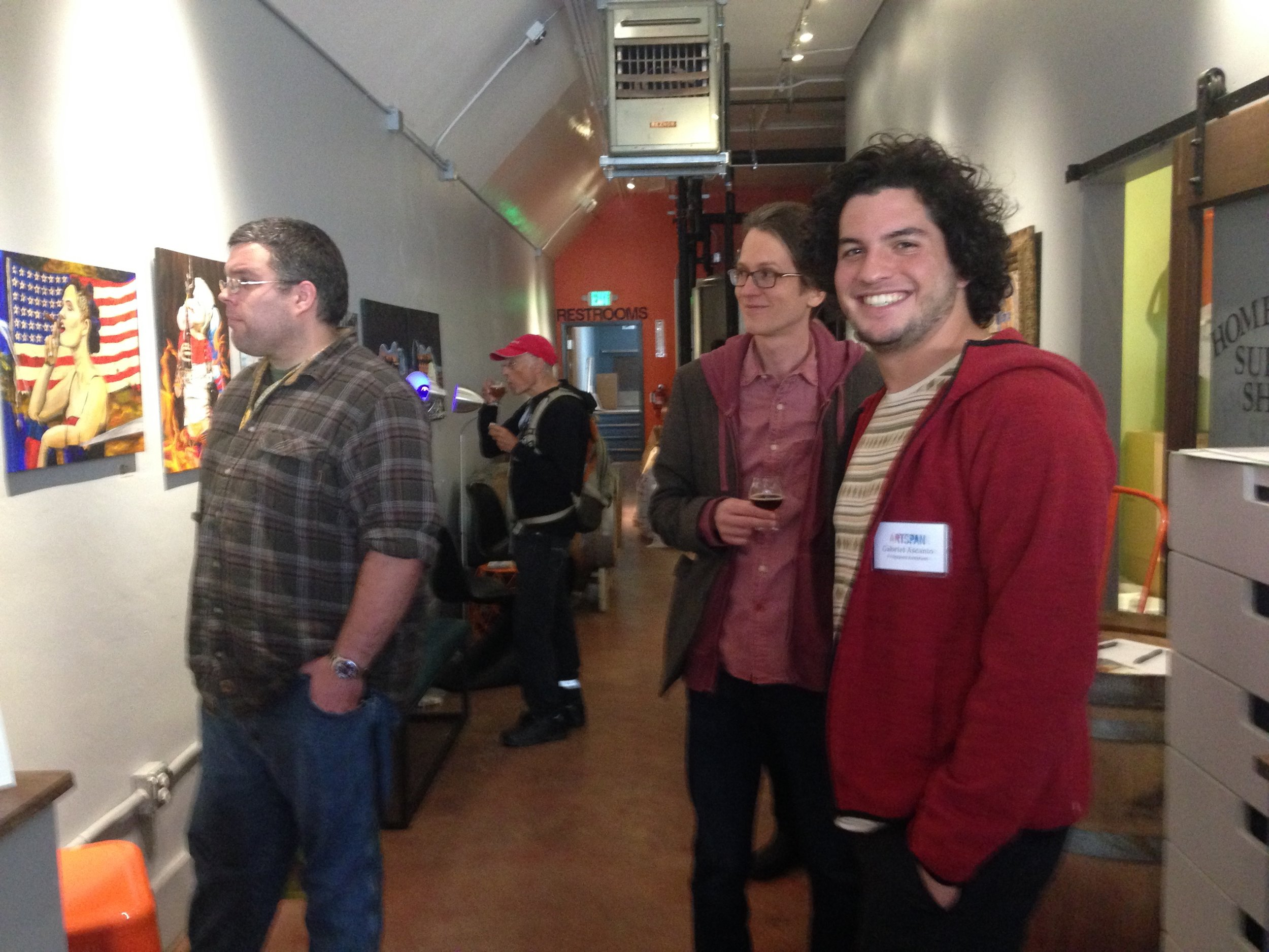 ArtSpan Artist Reception at Ferment Drink Repeat Brewery in San Francisco