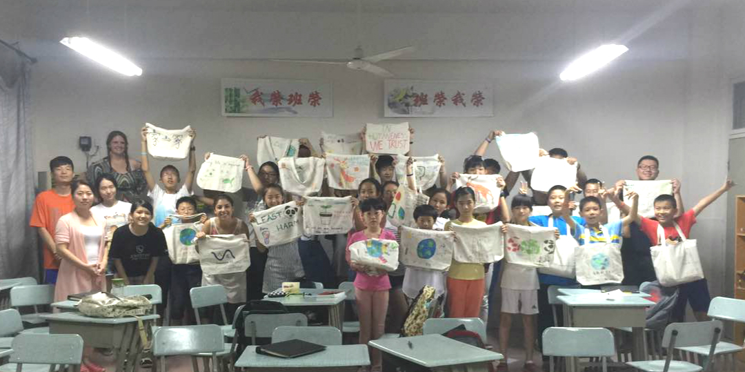 Drawing PSAs on Eco-bags