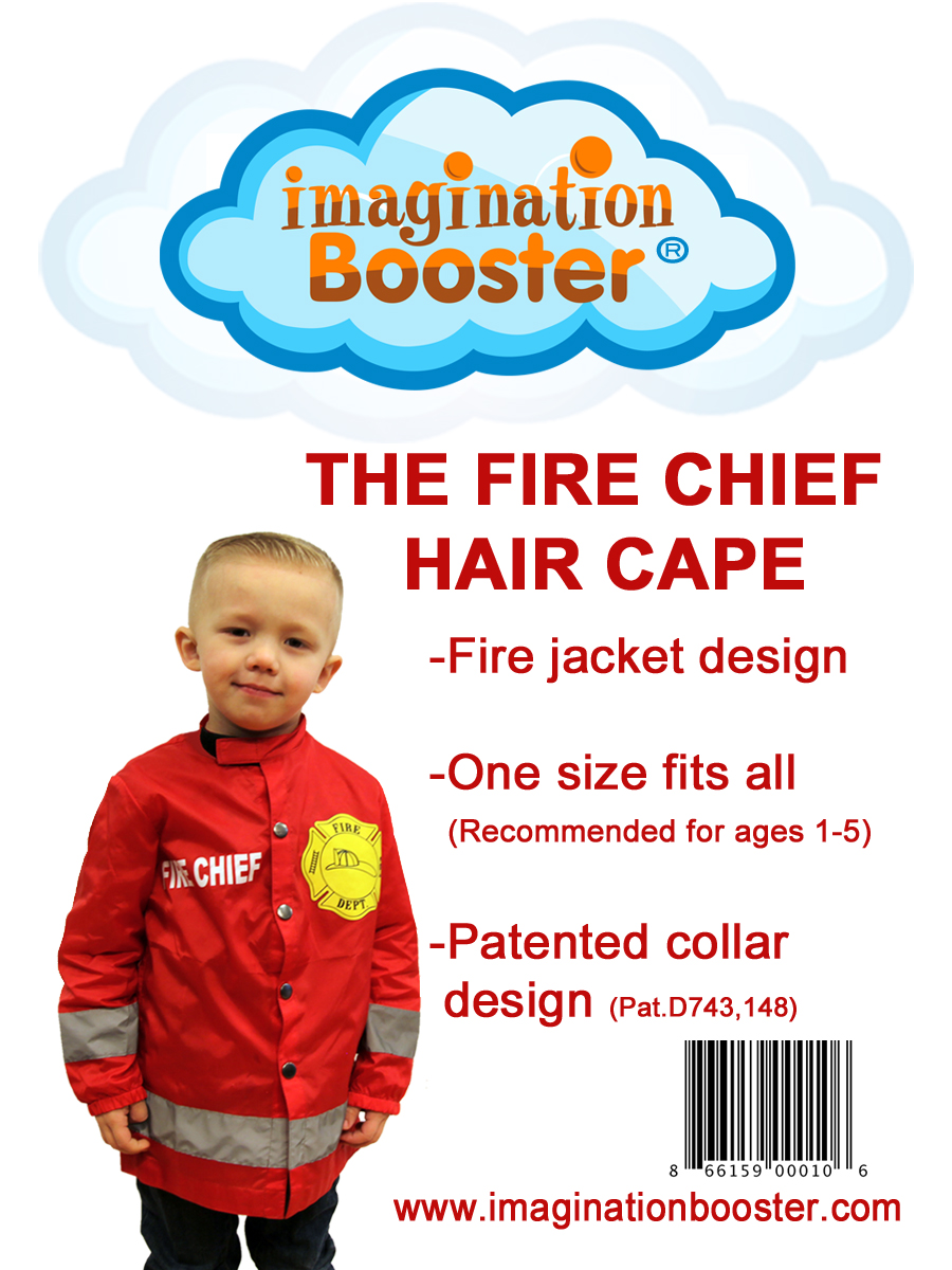 THE FIRE CHIEF HAIR CAPE