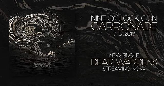 Our new full length Carronade is available on CD and everywhere digital July 5th. Stream the first single Dear Wardens now! Link in the bio. . . . #nineoclockgun #carronade #dearwardens #single #lp #newmusic #vancouver #vancitybuzz #canadianmusic #canada #rock #bluesrock #rockandroll #rocknroll #stonerrock #hardrock #riffs #artwork #painting #spotify #applemusic #bandcamp