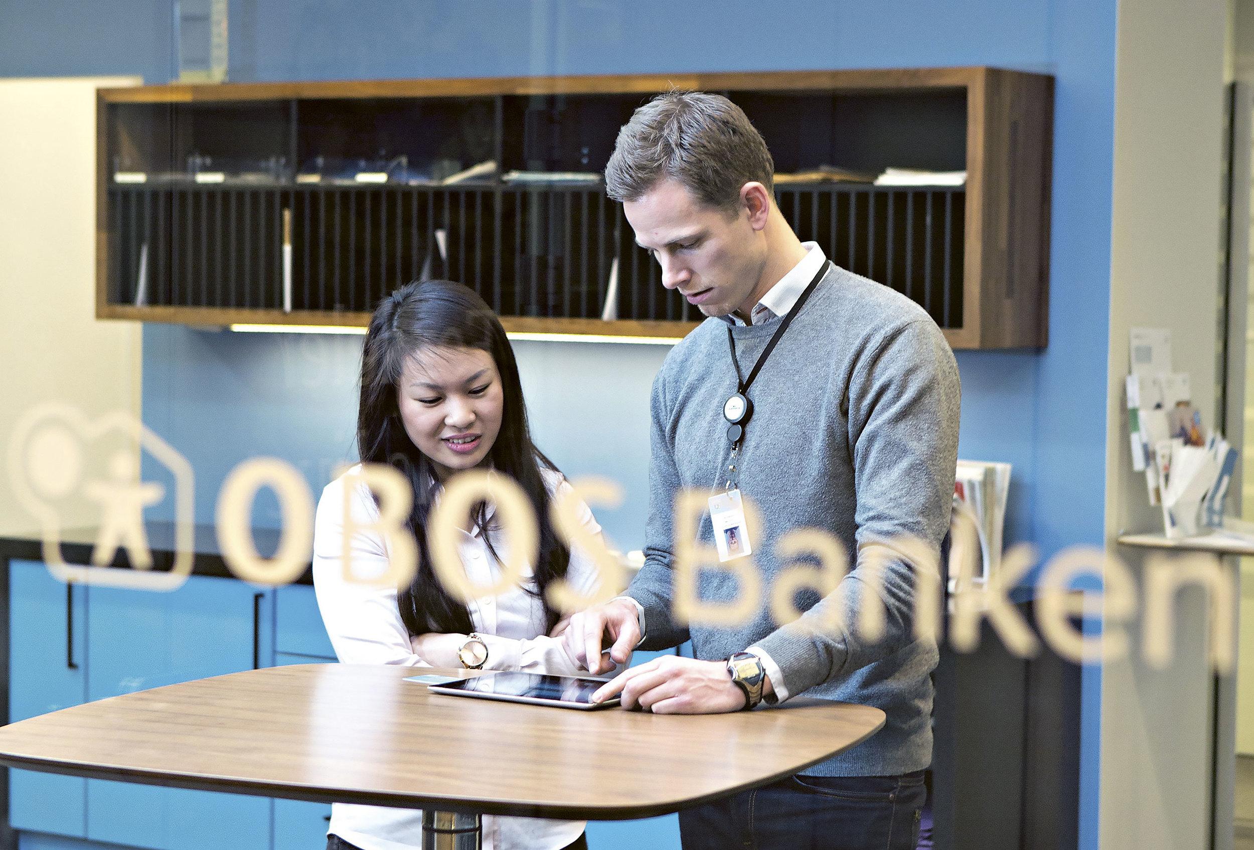 OBOS-banken lå stadig i toppsjiktet blant bankene med den beste boligrenten. Foto: Charlotte Wiig