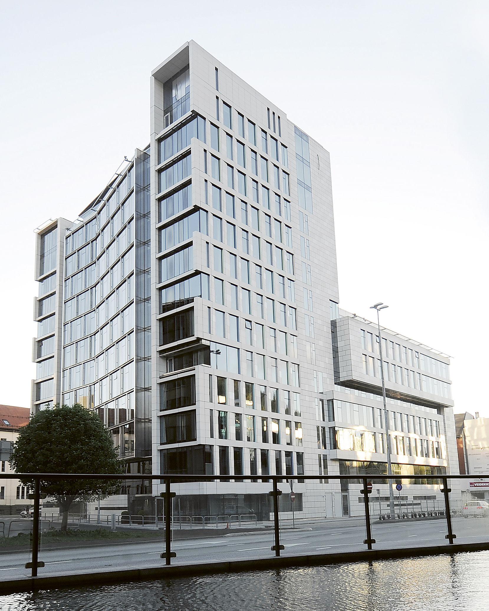 Scandic Ørnen åpnet 2. mai 2014 og er det største hotellet i Bergen. Foto: Helge Skodvin
