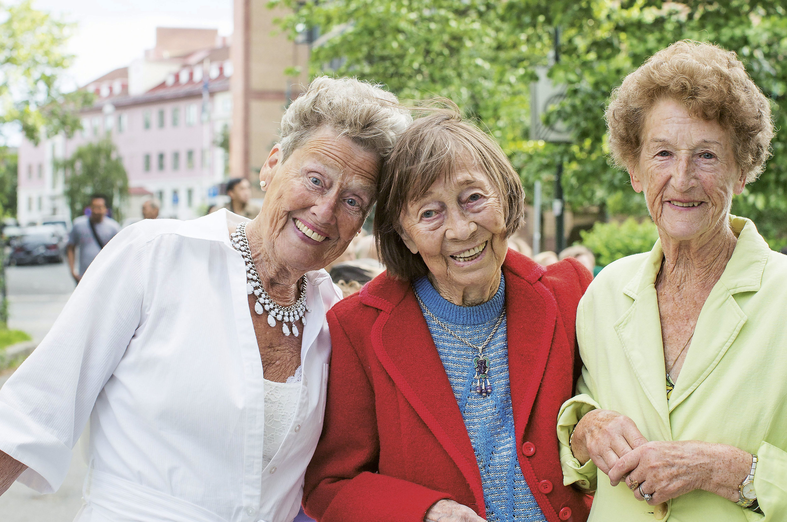 Enerhaugen borettslag i Oslo fylte 50 år.
