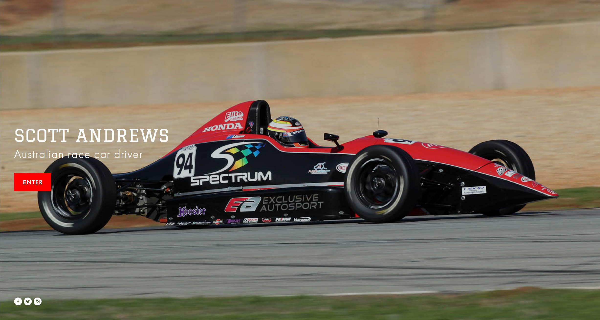 website of US 1600 CHAMPION, SCOTT ANDREWS is designed, installed and updated by PLM